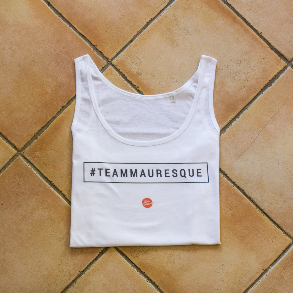 "t-shirt femme ""Hashtag"" - boutique Team Mauresque"